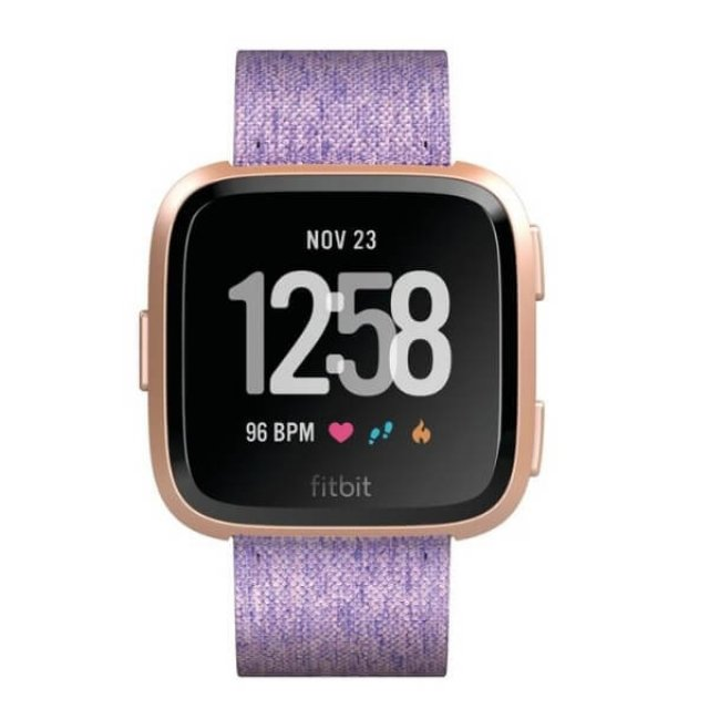 FITBIT VERSA, Special Edition Lavender Woven