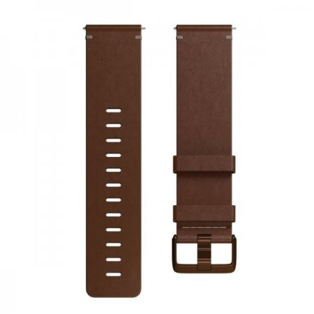 FITBIT VERSA, Accessory Band, Leather, Cognac, Large