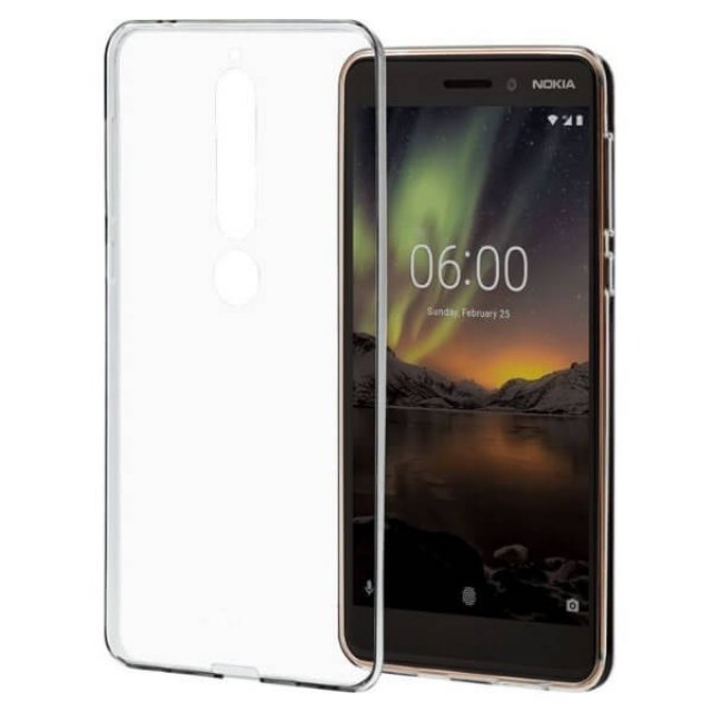 CC-110 Nokia 6.1 Clear Case Transparent