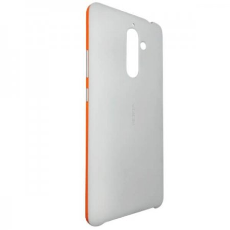 CC-506 Nokia 7 PLUS Soft Touch Case Light Grey/Copper (jasny szary/miedziany)