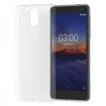 CC-108 Nokia 3.1 Clear Case Transparent