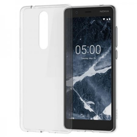 CC-109 Nokia 5.1 Clear Case Transparent