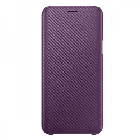 EF-WJ600CEEGWW Etui Wallet Cover do Samsung Galaxy J6 Purple