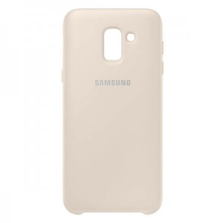 EF-PJ600CFEGWW Etui Dual Layer Cover do Samsung Galaxy J6 Gold