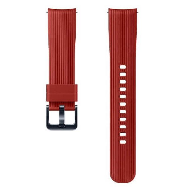 ET-YSU81MREGWW Galaxy Watch 42mm Silicon Strap 20mm Red