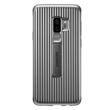 EF-RG965CSEGWW Protective Standing Cover do Samsung Galaxy S9+ Silver
