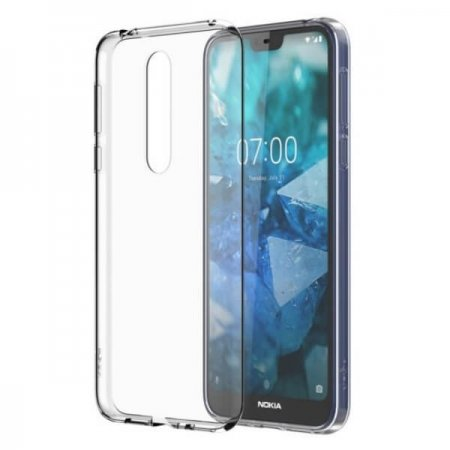 CC-170 Nokia 7.1 Clear Case Transparent