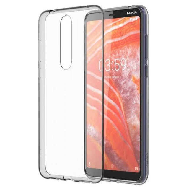 CC-131 Nokia 3.1 Plus Clear Case Transparent