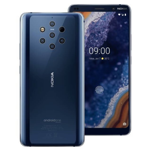 NOKIA 9 PUREVIEW TA-1087 6/128 DS CEE PL B BLUE