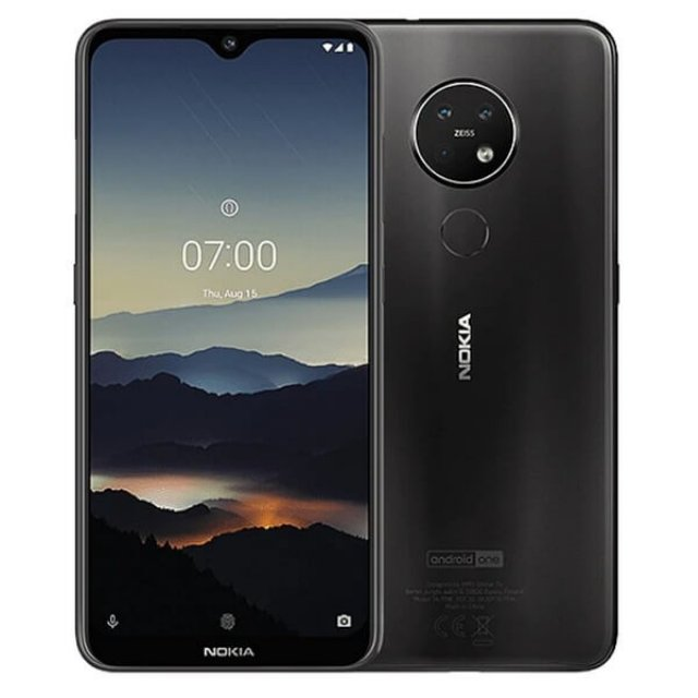 NOKIA 7.2 TA-1196 DS 4/64 PL CHARCOAL