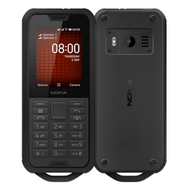 NOKIA 800 TA-1186 DS PL BLACK