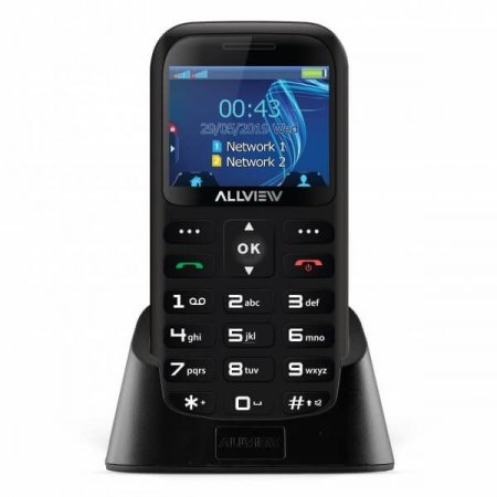 Allview D2 Senior DS. black