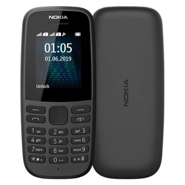 NOKIA 105 TA-1174 DS PL BLACK